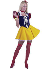 Adult Sexy Deluxe Snow White Costume Charades Size Med New Free Shipping