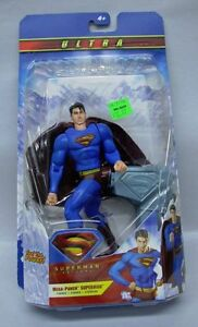 Superman Returns Ultra Mega Punch Superman Mattel 6 inch Action Figure S107-6