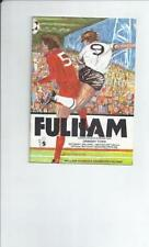 Away Teams F-K Grimsby Town Division 2 Football Programmes