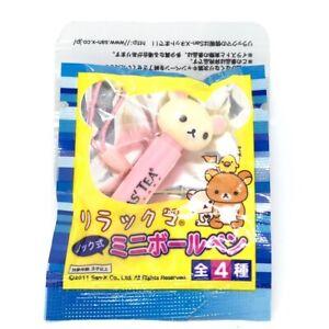 San-X Rilakkuma Bear Japan Promo Pen Figure Anime Manga Japanese Korirakkuma Toy