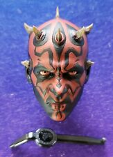 Hot Toys DX16 1/6 Scale Star Wars Phantom Menace DARTH MAUL REGULAR HEAD ONLY