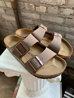 NEW AUTHENTIC Birkenstock Arizona Mocca Regular Width Women's Sandal Pick Size