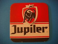 Beer Coaster ~ Brasserie Piedboeuf Jupiler Bier Bull ~ Jupille-sur-Meuse,BELGIUM