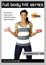Barre Weights Cardio EXERCISE DVD Barlates Body Blitz FULL BODY HIIT 3 Workouts
