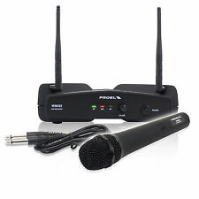 Cheap Proel Wm202m-f2 Wireless Microphone & Receiver Set Karaoke