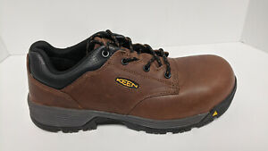 Keen Utility Chicago Composite Toe Work Shoes, Brown, Men's 12 M