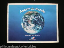 Air France -  Duty Free/Route Maps magazine  1979   40 Pages