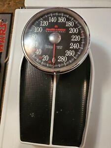 Health O Meter Professional Bathroom Scale Big Foot Model 160 330 LBS