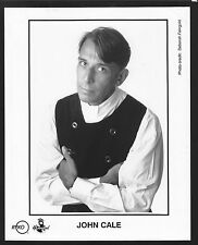 Vintage Original Ltd Edition Promo Photo 8x10 John Cale c1991 Surface Wrinkle