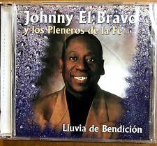 """JOHNNY EL BRAVO - """" LLUVIA DE BENDICION """" - CD"""