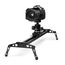 24 inches Camera Slider for DSLR Aluminum Alloy Dolly Track with 17.6lbs Loading