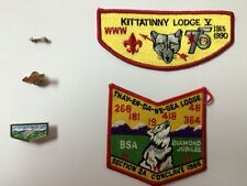BSA ORDER OF THE ARROW PATCH AND PIN VINTAGE
