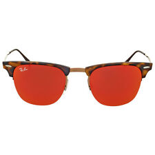 Ray-Ban Clubmaster Light Ray Red Mirror Unisex Sunglasses