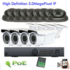 16Channel 5Mp Network Nvr 1920x2592P Onvif Ip Ip66 12pc 101 PoE Security Camera