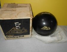 1986 AMF Black The Angle Bowling Ball 16 lbs Undrilled New w/ Beaten up Box