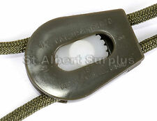 5 x ARMY CORD LOCK / TOGGLE / BUCKLE / PARACORD LOCK / STOPPER - 16HL
