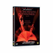 In The Mouth of Madness,1995 (DVD,All,New)  John Carpenter,  Sam Neill