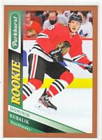 2019-20 Parkhurst E-Pack Exclusive BRONZE ROOKIE RC Dominik Kubalik  #305