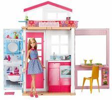 Barbie 2 Story House & Doll Playset Malibu Dream House