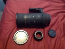 Sigma EX HSM 50-500mm f4-6.3 Lens With Sigma SA Mount And SA to m4/3 adapter