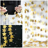 4M Star Paper Garland Bunting Home Wedding Birthday Party Banners Hanging Xmas