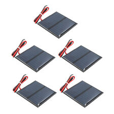 5x DIY Mini Solar Panel Small Cell Module Charger for Garden Lights 60x60mm