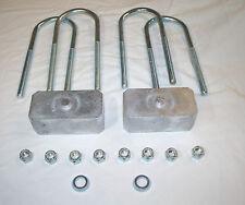 "Ford Escort / Cortina / Capri 1.5"" Lowering Blocks and U Bolt Kit (37mm)"