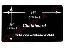 "LARGE CHALKBOARD BLACKBOARD MENU BOARD  48"" x 30""  -  1220mm x 760mm"