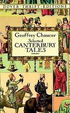 Selected Canterbury Tales (Dover Thrift Editions) - Geoffrey Chaucer - Good Cond