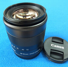 Canon EF-M 18-55 mm F3.5-5.6 IS STM Lens For EOS M - Fast WorldWide Shipping -