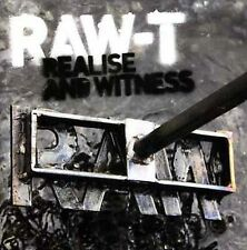 RAW-T - REALISE AND WITNESS NEW CD