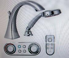 Moen Voss ioDigital High Arc Roman Tub Faucet w/Handshower Chrome T9694