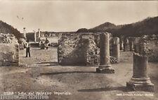 #OSTIA- scavi: SALA DEL PALAZZO IMPERIALE- fotocartolina al bromuro