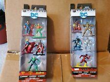 Nano Metal figures DC 5 Pack Set Of 2 NIB