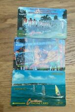 BARBADOS Phonecards - 3 x Defence Force, Crop Over 95 & Windsurfing