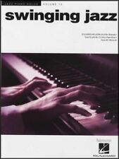 Swinging Jazz Piano Solos Volume 12 Sheet Music Book Dean Martin Frank Sinatra