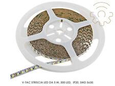V-tac Striscia led 60 led al metro colore bianco freddo IP20 5630 smd
