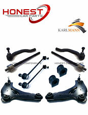 For VAUXHALL VIVARO 01-06 FRONT SUSPENSION ARMS LINKS TIE TRACK RODS D BUSH KIT