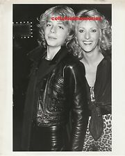 Original Photo Leif Garrett Teen Idol Singer & Fleur Thiemeyer Costume Designer