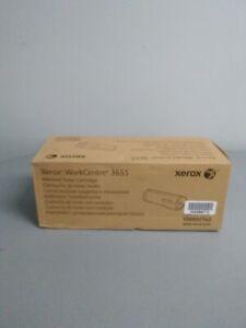New In Sealed Box Xerox WorkCentre 3655 Black Toner Cartridge