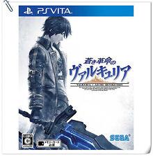 PSV Valkyria: Azure Revolution 蒼藍革命之女武神 中文版 Sony VITA Sega Action RPG