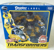 Pair of Disney Label Transformers Donald Duck Color and Black White Versions