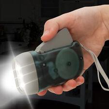 Trailblazer 3-LED Dynamo Hand Crank Flashlight Emergency Camping Torch Charge