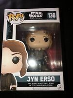 Funko POP! Star Wars Rogue One: Jyn Erso - Vinyl Bobble-Head Figure #138  BNIB