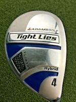 "Adams Golf Tight Lies TL-812 4 Hybrid / RH ~38"" / Regular Graphite / gw9037"