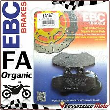 PASTIGLIE FRENO ANTERIORE ORGANIC EBC FA167 APRILIA RED ROSE 125 1990 -