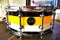 "14""x5.5"" Tri-Color Acrylic Snare Drum"
