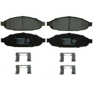 Disc Brake Pad Set-SST Front Federated D997C fits 04-08 Chrysler Pacifica