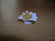 Fish & chips in Paper / Portion of chips Dollhouse Dollhouse 1:12 4832