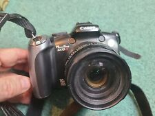CANON POWERSHOT  SX10 IS  BLACK  COLORED    NICE  TESTED WORKING